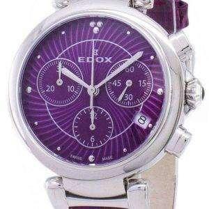 Edox LaPassion 102203CROIN 10220 3 ROIN Cronógrafo cuarzo Watch de Women