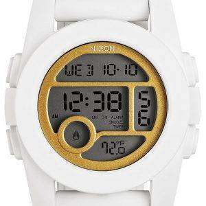 Reloj Nixon unidad 40 hora Dual alarma Digital A490-1035-00 de las mujeres