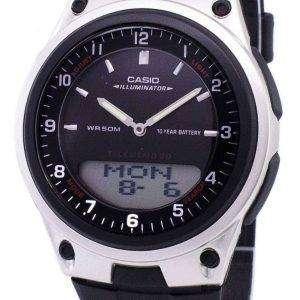 Reloj Casio Analógico Digital Telememo iluminador AW-80-1AVDF AW-80-1AV hombre