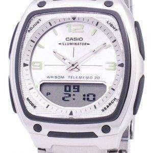 Reloj Casio Analógico Digital Telememo iluminador AW-81D-7AVDF AW-81D-7AV hombre