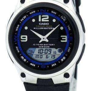 Casio análogo Digital Out Gear pesca iluminador AW-82-1AVDF AW-82-1AV reloj de hombres