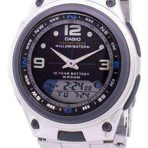 Casio análogo Digital Out Gear pesca iluminador AW-aerotransportada-1AVDF AW-aerotransportada-1AV reloj de hombres