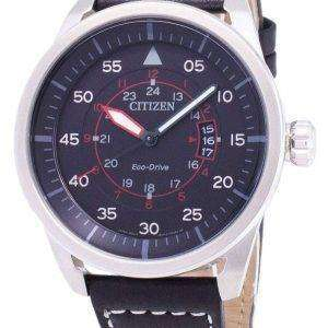 Avion de ciudadano Eco-Drive AW1361-01E analógico reloj de Men
