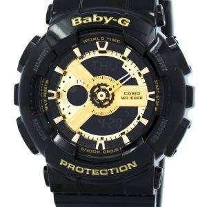 Reloj Casio Baby-g mundial tiempo Analógico Digital BA-110-1A de la mujer