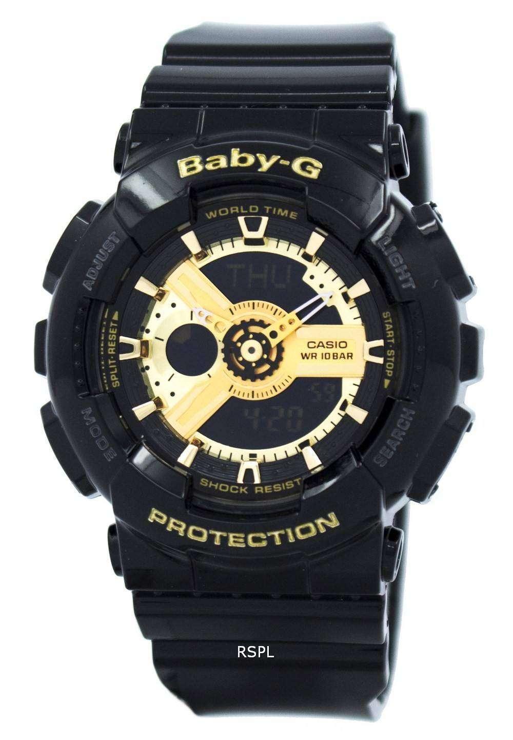 dba82071bc1b Reloj Casio Baby-g mundial tiempo Analógico Digital BA-110-1A de la ...