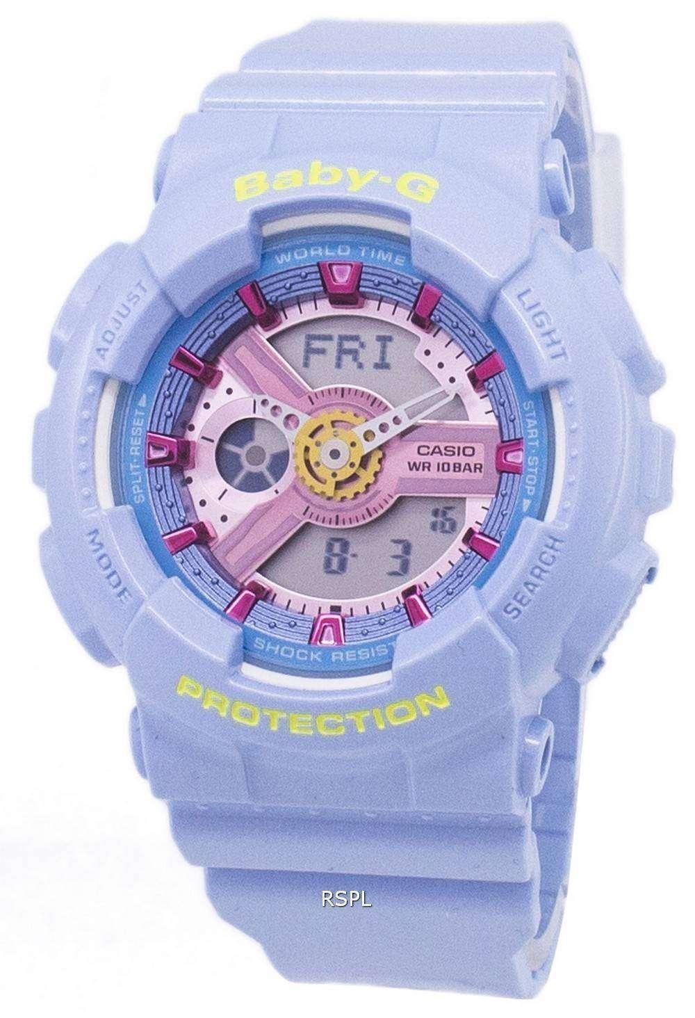 b6d3c74c02d9 Reloj Casio Baby-g Analógico Digital Mundial tiempo BA-110CA-2A de ...