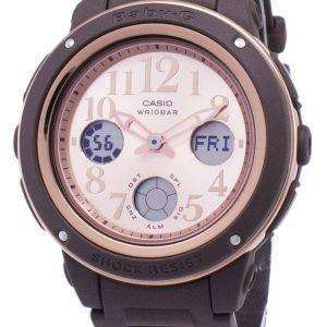 Reloj Casio Baby-g BGA-150PG-5B1 a prueba de golpes la iluminación de las mujeres