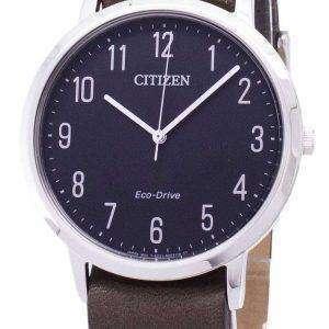 Ciudadano elegante BJ6501-01E Eco-Drive analógica Watch de Men