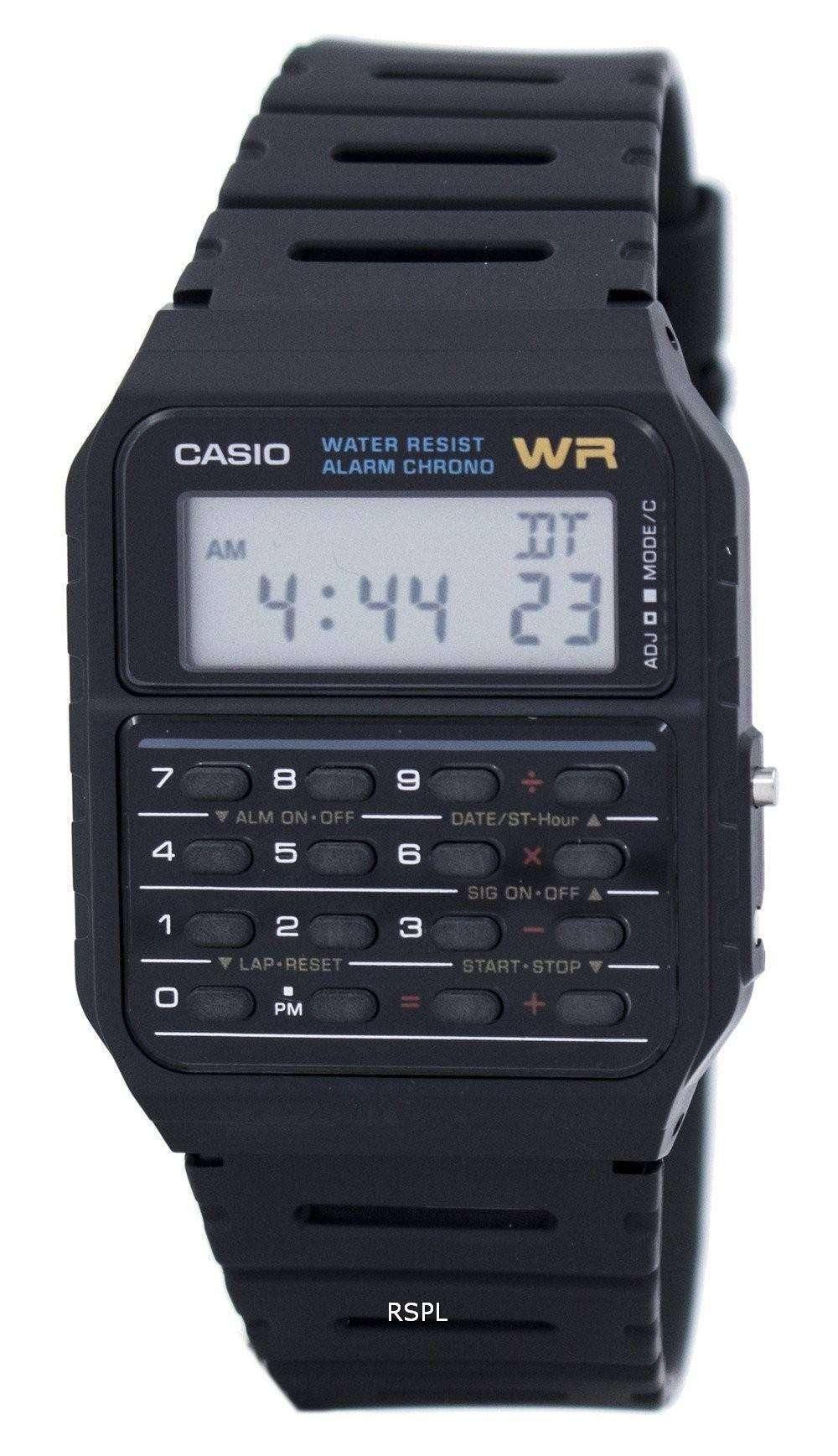 1 Reloj Calculadora 53with78w Ca53w Cuarzo Varonil 1zdr Ca Casio Clásico OukPiXZ