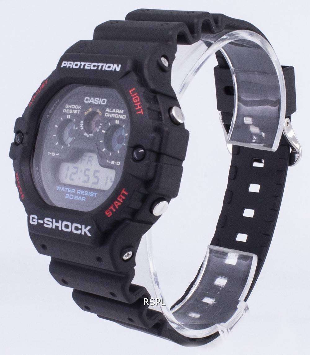 G 1 Shock Cuarzo 200m Casio Dw 5900 Digital Varonil Dw5900 Reloj uPikXZO