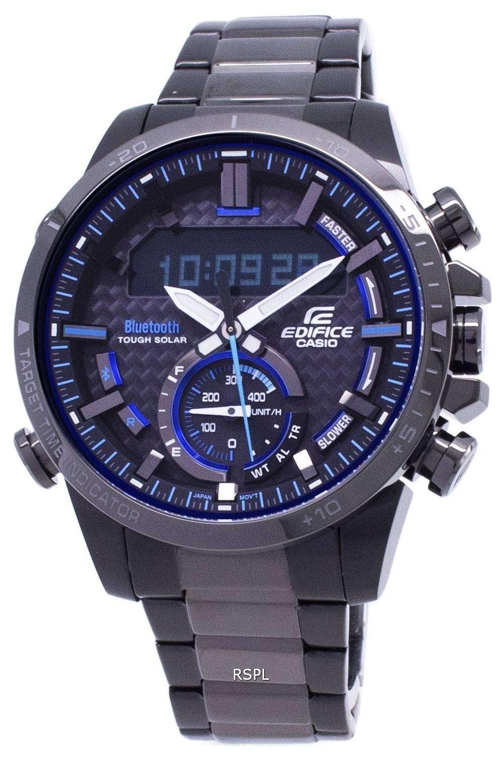 363c9da64cce Reloj Casio Edifice resistente Bluetooth Solar BCE-800DC-1A hombre ...
