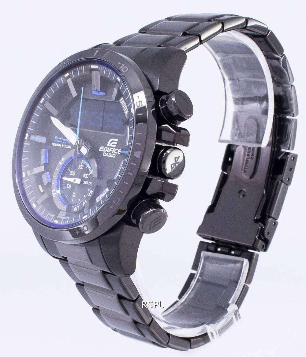 Reloj Casio Edifice resistente Bluetooth Solar BCE 800DC 1A hombre