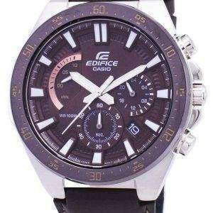 Reloj Casio Edifice cronógrafo de cuarzo EFR563BL EFR-563BL-5AV-5AV hombres