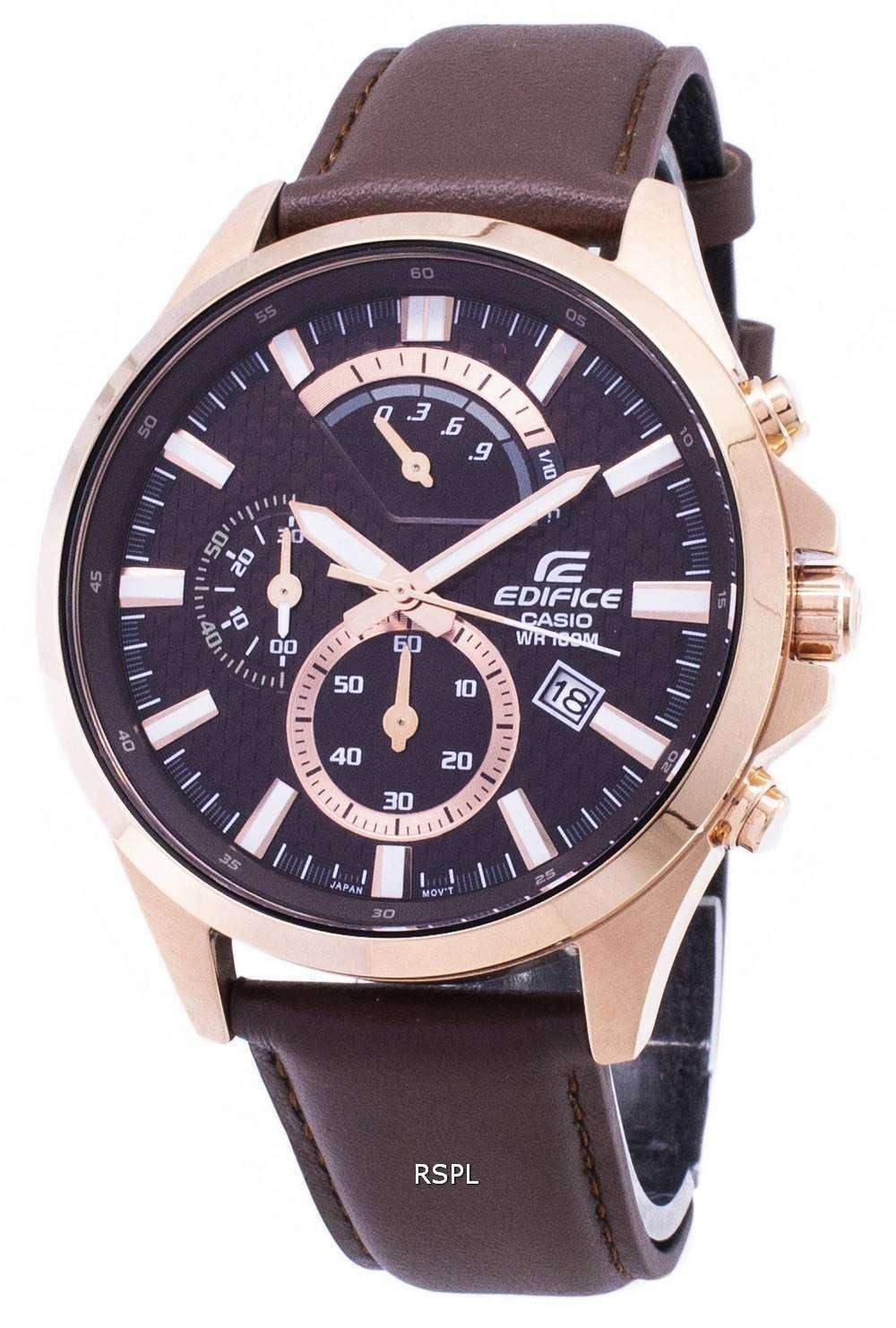 19a25bae5d45 Reloj Casio Edifice Cronógrafo estándar EFV-530GL-5AV cuarzo hombre ...