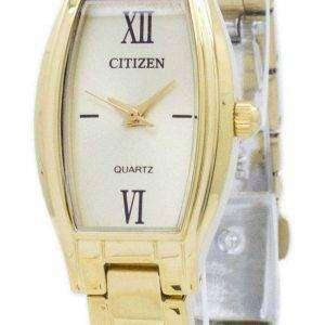 Reloj de cuarzo analógico de ciudadano EJ6112 - 52P mujeres