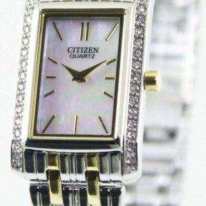 Ciudadano cuarzo cristales de Swarovski EK1124 - 54D reloj de mujeres