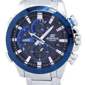 Casio Edifice enlace Smartphone Dual Time Tough Solar JCA-800DB-1A EQB800DB-1A reloj de Men