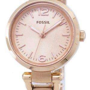 9d62ecb5f745 Fósiles Mini Georgia Rose-tono ES3268 reloj de mujeres. +. Fossil