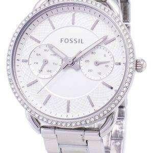 Fósil a medida cuarzo multifunción diamante Acentos ES4262 Watch de Women