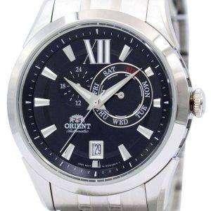 Orient deportivo autom√°tico esfera negra ET0X004B reloj de hombres
