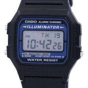 Reloj Casio Digital cuarzo alarma Chrono iluminador F-105W-1ADF F-105W-1 de los hombres