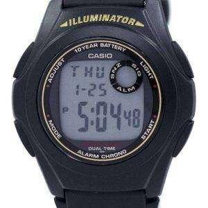 bbd490671efd Reloj Casio iluminador hora Dual alarma crono F-200W-9ASDF F200W-9ASDF de  ...