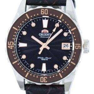 Orient autom√°tico aplique cristal Power reserva FAC0A005T0 Watch de Women