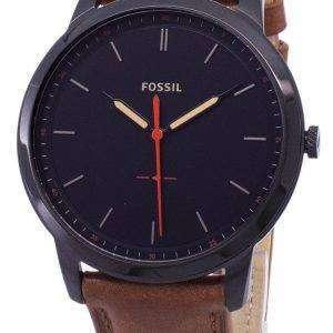 Fósiles minimalista 3H cuarzo FS5305 Watch de Men