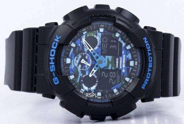 Reloj Casio G-Shock Analógico Digital GA-100CB-1A de los hombres