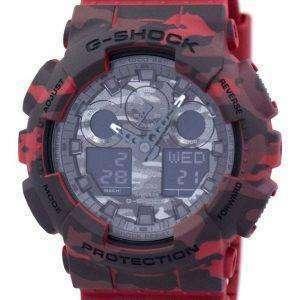 Casio G-Shock camuflaje serie analógica Digital GA-100CM-4A reloj de hombres