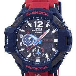 Reloj Casio G-Shock GRAVITYMASTER mundo a prueba de golpes tiempo GA-1100-2A de los hombres