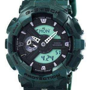 Reloj Casio G-Shock camuflaje serie GA-110CM-3A masculina