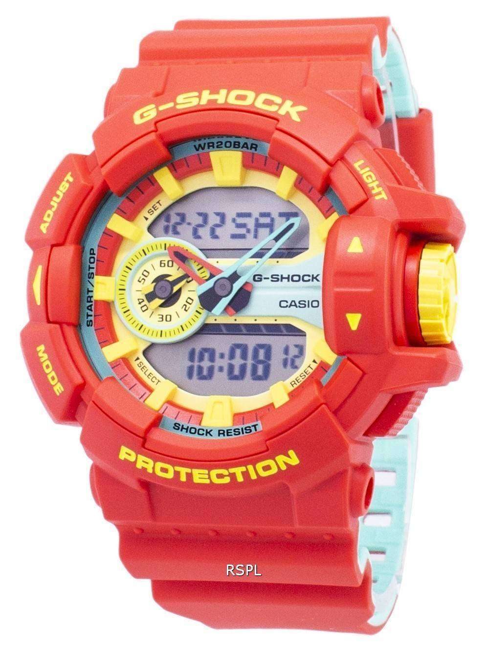 1ad8ef2db009 Modelos de Color especial Casio G-Shock GA-400CM-4A Analógico Digital 200M