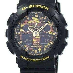 Reloj Casio G-Shock camuflaje serie GA-100CF-1A9 hombres