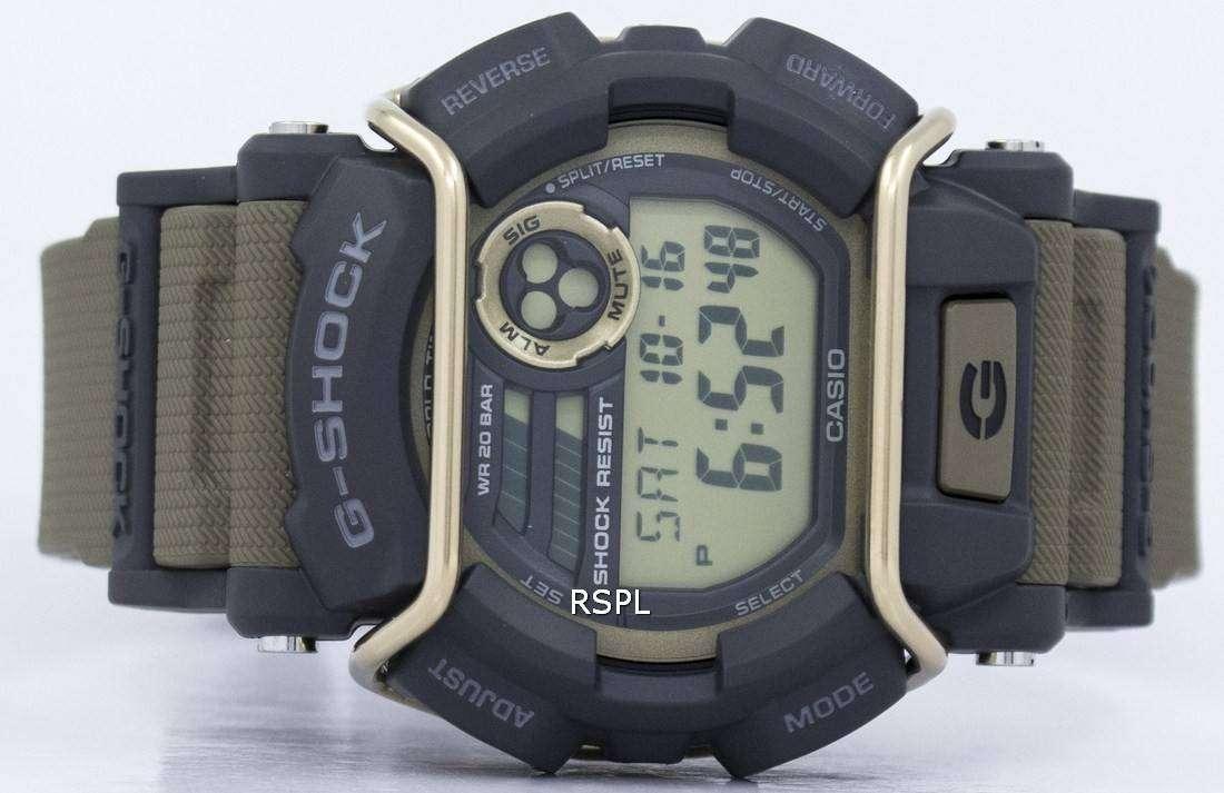 Gd Iluminador Hombres Casio 200m G 9 Shock De Reloj 400 Alerta Flash Súper N8wOvmn0