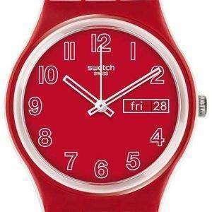 Reloj Unisex Swatch originales campo de amapolas cuarzo GW705