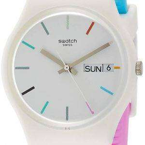 Swatch Originals Edgyline analógico cuarzo GW708 Watch de Men