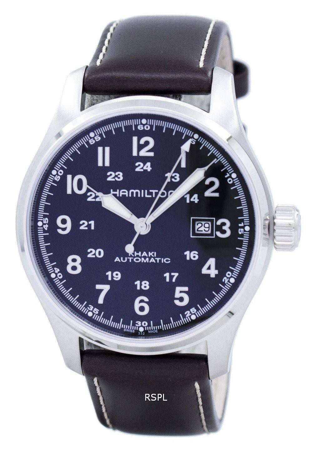 2da017630440 Hamilton Khaki campo automático H70625533 Watch de Men - citywatches.es