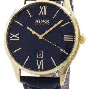Hugo Boss gobernador cuarzo 1513554 Watch de Men