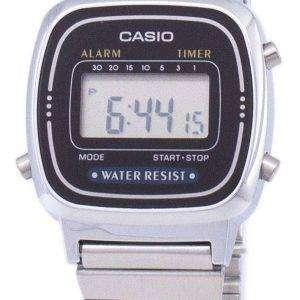 Reloj Casio Digital Classic alarma temporizador LA670WA-1DF LA670WA-1 de las mujeres