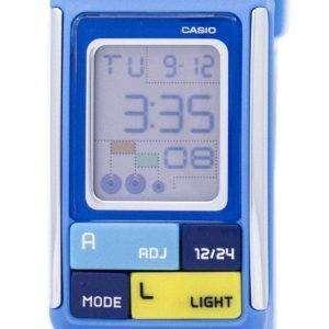 Reloj Casio Poptone hora Dual alarma Digital LDF-50-2D LDF50-2D de la mujer