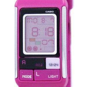 Casio Poptone hora Dual alarma Digital LDF-52-4A LDF52-4A Watch de Women