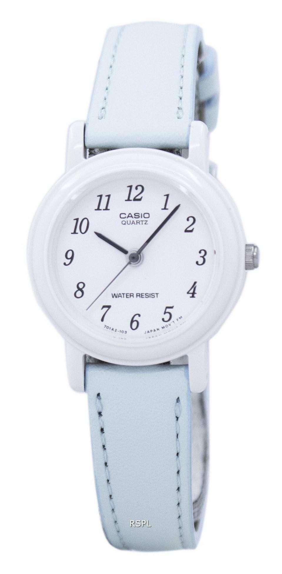86a8f42d7d6e Reloj Casio analógico cuarzo LQ139L de LQ-139L-2B-2B Femenil ...