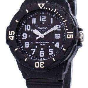 Casio Enticer analógico Dial negro LRW-200H-1BVDF LRW-200H-1BV reloj de mujeres