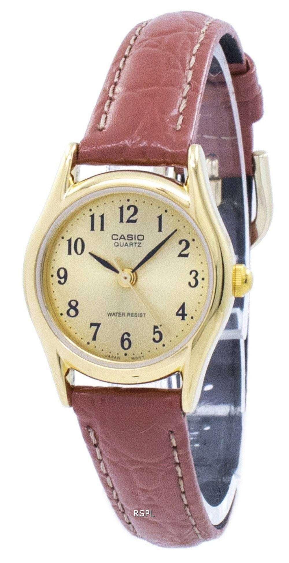 4105b320625f Reloj Casio analógico cuarzo LTP-1094Q-9B LTP1094Q-9B Femenil ...