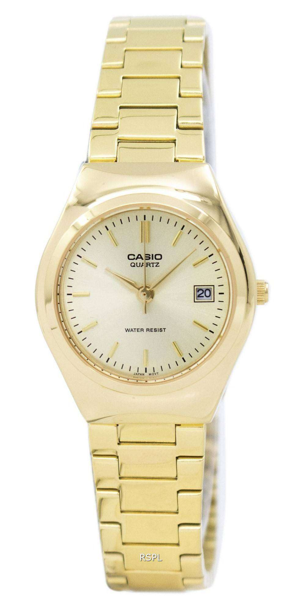 b2c591bad69e Casio analógico dorado LTP-1170N-9ARDF LTP-1170N-9AR reloj de mujeres