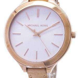 Michael Kors pasarela Rosa oro MK2284 reloj de mujeres