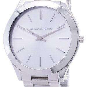Reloj Michael Kors pista Dial de plata MK3178 de las mujeres