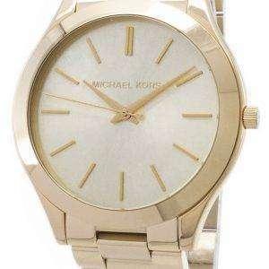 Reloj Michael Kors pasarela Champagne Dial MK3179 de las mujeres