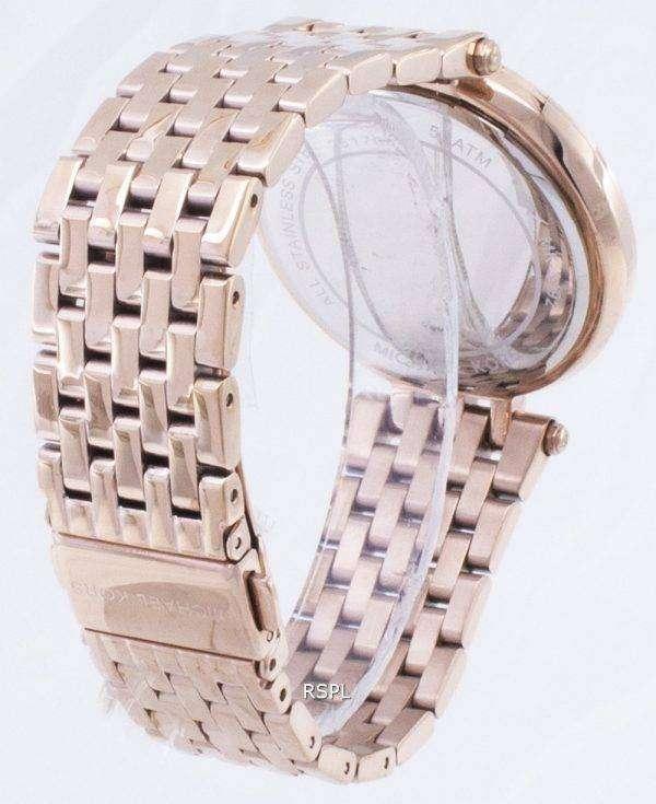 Michael Kors Darci cristal adornado reloj bisel MK3192 femenina